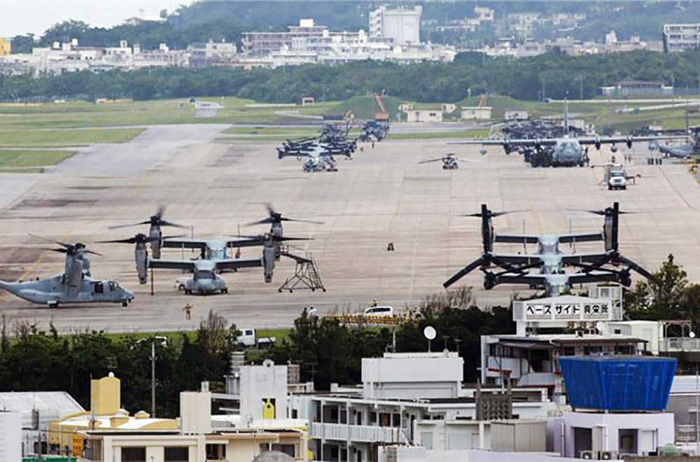 US Planes Kadena Air Base Okinawa