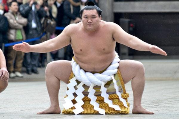 Hakuho Sumo Champion