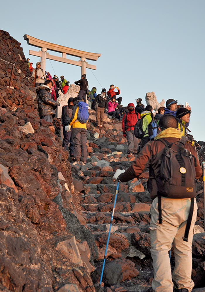 Mt.fuji Almost Top