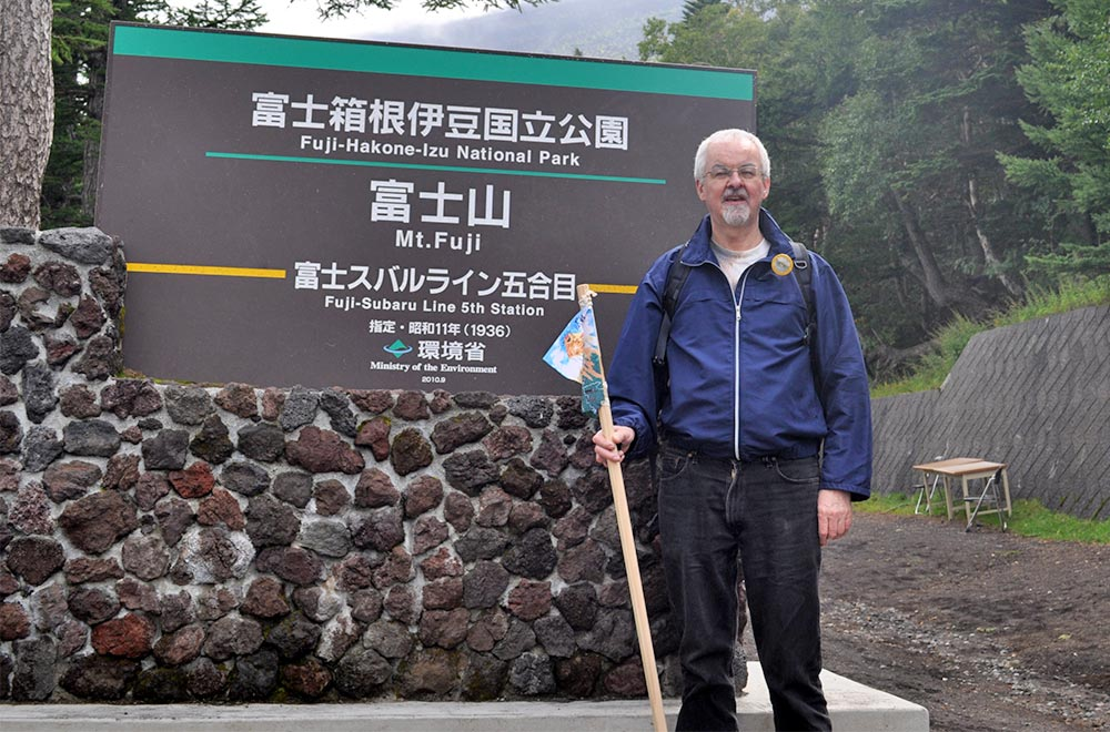 Mt.fuji Base Sign